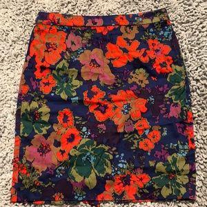 J Crew summer pencil skirt So pretty!